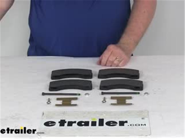 Dexter K71-629-00 Replacement Disc Pad Kit For Dexter 6000 8000 # Axles 7000