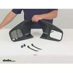 Longview Custom Towing Mirrors - Slide-On Mirror - LVT-2300-C Review