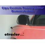 CIPA Custom Towing Mirror Installation - 2004 Chevrolet Silverado