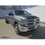 Gooseneck Trailer Hitch Installation - 2011 Dodge Ram Pickup