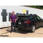 Curt Trailer Hitch Installation - 2016 Subaru Outback Wagon