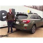 Curt Trailer Hitch Installation - 2015 Subaru Outback Wagon