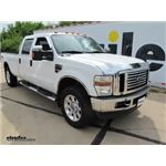 Front Mount Trailer Hitch Installation - 2008 Ford F-250