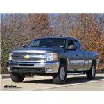 Front Mount Trailer Hitch Installation - 2012 Chevrolet Silverado