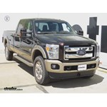 Front Mount Trailer Hitch Installation - 2012 Ford F-250 - Curt