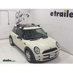 Kuat TRIO Roof Bike Racks Review - 2005 Mini Cooper