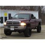Pacer Performance Hi-Five LED Truck Cab Lights Installation - 2001 Dodge Ram Pickup