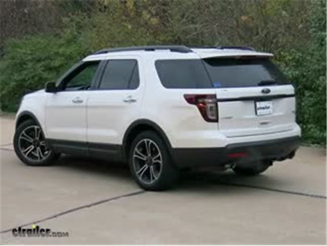 Fit For Ford Explorer 11-2014 Front Bumper Lower Centre Grill Grille Cover Trim
