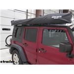 Rhino-Rack Crossbar Batwing Awning Installation - 2013 Jeep Wrangler Unlimited