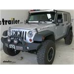 Roadmaster Adapter for Jeep D-Ring Bumper Mounts Installation - 2012 Jeep Wrangler Unlimited