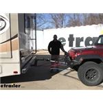 Roadmaster Motor Home Mount Tow Bars Adapter Installation - 2014 Jeep Wrangler Unlimited