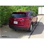 Trailer Hitch Installation - 2013 Mazda CX-5 - Draw-Tite
