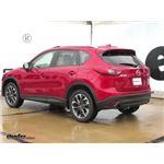 Trailer Hitch Installation - 2016 Mazda CX-5