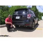 Draw-Tite Max-Frame Trailer Hitch Installation - 2018 Subaru Forester
