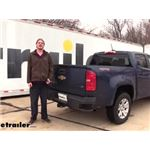 Draw-Tite Max-Frame Trailer Hitch Installation - 2020 Chevrolet Colorado