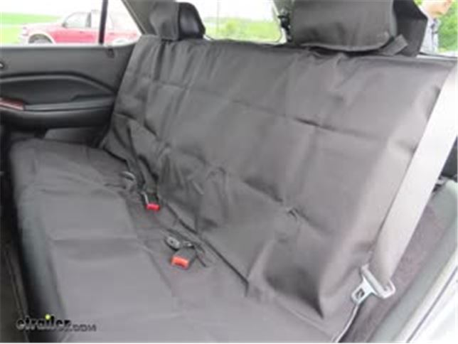 Black to fit Skoda Fabia 2000-2015 Titan Waterproof Car Back Seat Cover
