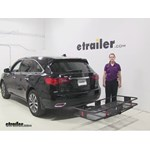 Curt 24x60 Hitch Cargo Carrier Review - 2014 Acura MDX