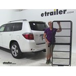 Curt Cargo Carrier Review - 2008 Toyota Highlander