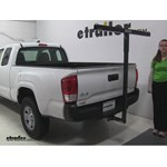 Darby Extend-A-Truck Hitch Cargo Carrier Review - 2016 Toyota Tacoma