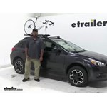 Kuat TRIO Roof Bike Racks Review - 2014 Subaru XV Crosstrek