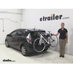 Thule Archway Trunk Bike Racks Review - 2013 Toyota Prius c