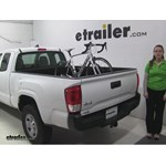 Thule  Truck Bed Bike Racks Review - 2016 Toyota Tacoma