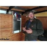 Tow-Rax Aluminum Storage Cabinet with Folding Tray Review and Installation