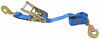 erickson car tie down straps 6 - 10 feet long tie-down ratchet and twisted flat hooks 2 inch wide x 7' 3 300 lbs