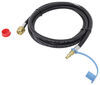 mb sturgis propane adapter hoses 1 inch-20 - male 100476-120-mbs