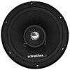 """Jensen Coaxial Indoor RV Speaker - Recessed Mount - 6"""" Diameter - 50 Watts - Black- Qty 1 6 Inch Diameter 1103030"""