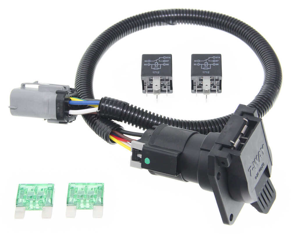 118243 - Custom Fit Tow Ready Trailer Hitch Wiring