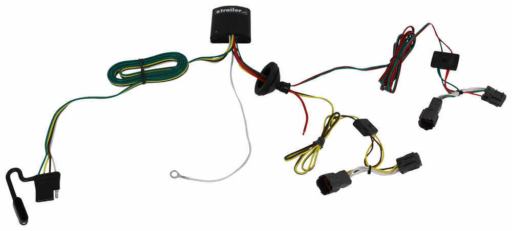 118501 - 4 Flat Tekonsha Custom Fit Vehicle Wiring