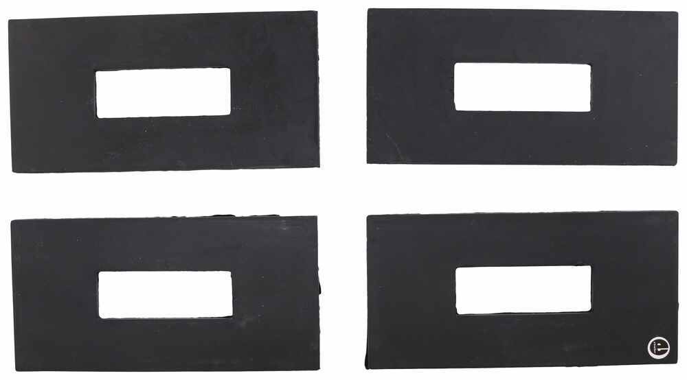Pack of 4 Neoprene Rubber 5th Wheel Rail Sound Dampening Pads Curt 16900