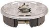 "Demco Hydraulic Drum Brake Assembly - Single Servo - Galvanized - 10"" - Left Hand - 3,500 lbs 10 x 2-1/4 Inch Drum 18788"