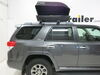 Roof Box 283-RBSM - Aero Bars,Factory Bars,Square Bars,Round Bars,Elliptical Bars - Car Top Cargo on 2012 Toyota 4Runner