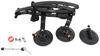 SeaSucker Komodo Trunk Bike Rack - Fork Mount - Vacuum Cup Mounted - Black Platform Rack 298-BK1910-BK