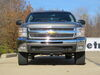 31322 - 500 lbs Vert Load Curt Front Hitch on 2012 Chevrolet Silverado