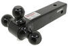 gen-y hitch trailer ball mount three balls drop - none rise 325-gh-064