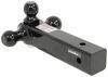 gen-y hitch trailer ball mount fixed class v 21000 lbs gtw 3-ball for 2-1/2 inch receivers - 2-5/16 2 1-7/8 balls