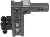 "Gen-Y Adjustable 2-Ball Mount w/ Stacked Receivers - 2-1/2"" Hitch - 12"" Drop/Rise - 32K Steel Shank 325-GH-1625"