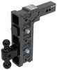 325-GH-1625 - Stacked Receivers,Built-In Pintle Hook Gen-Y Hitch Adjustable Ball Mount