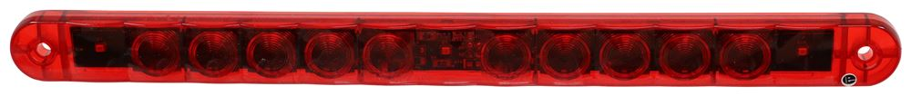 Hot-Line LED Trailer Clearance Identification Light Bar - Submersible - 3 Diodes - Red Lens Non-Submersible Lights 328-003-402R