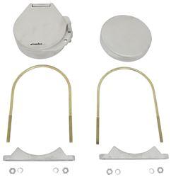 Hatch /& Mount Black Conduit Carrier Kit Cap Universal Fitment Ladder Van Racks