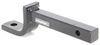 draw-tite trailer hitch ball mount fixed class i 2000 lbs gtw drawbar for 1-1/4 inch - 2-1/8 rise 2-3/4 drop 9-3/4 long 2k