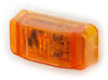 wesbar trailer lights clearance submersible led or side marker light - 1 diode rectangle amber lens
