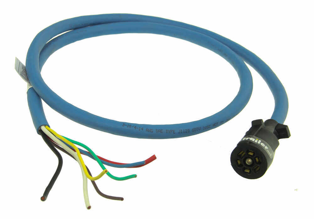 54006-009 - Trailer End Connector Bargman Wiring