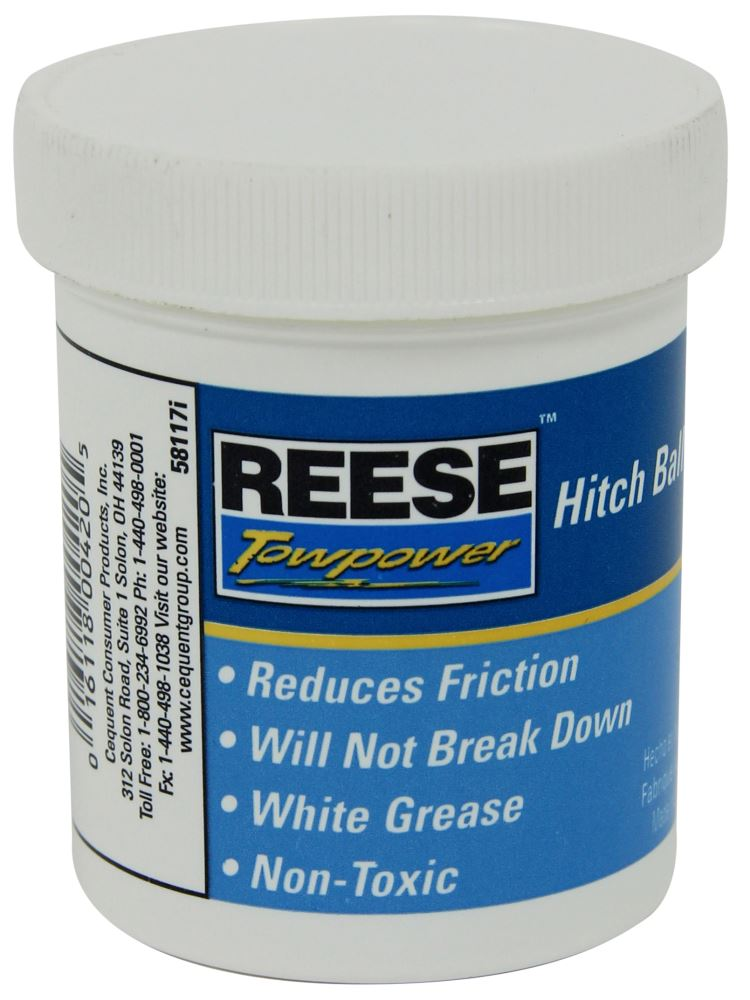 58117 - Hitch Ball and Coupler Grease Reese Hitch Ball