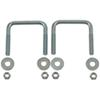 Trailer Square U-Bolts Qty 2 3-1/8 Inch X 3 Inch X 7/16 Inch