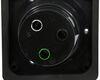 A10-30INBKVP - Black Mighty Cord Power Inlet