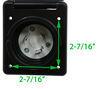 A10-30INBKVP - 30 Amp Twist Lock Male Plug Mighty Cord RV Wiring